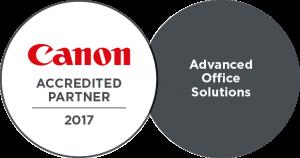 Canon Accredited Partner 2017