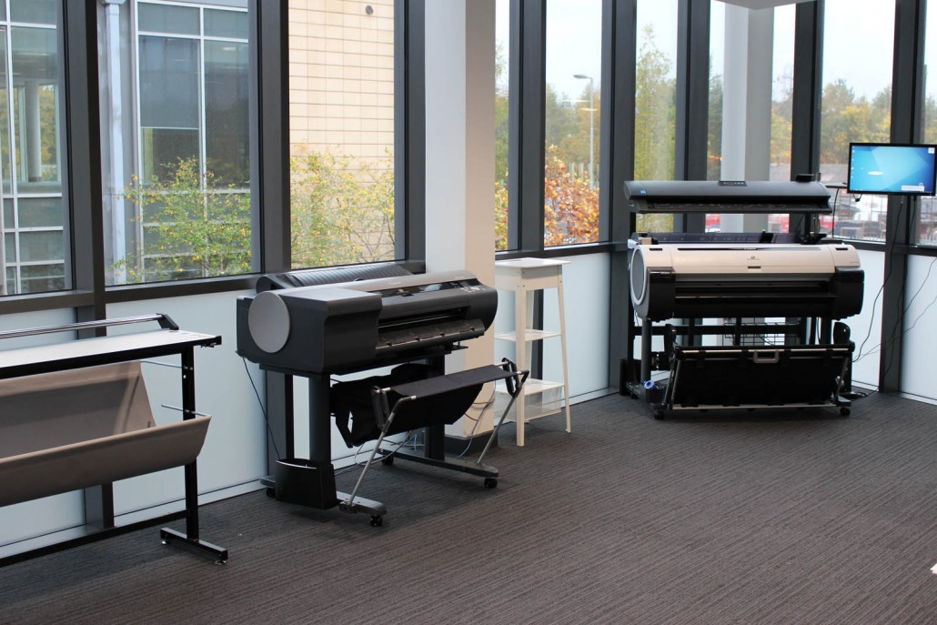 The Condor Large Format Showroom