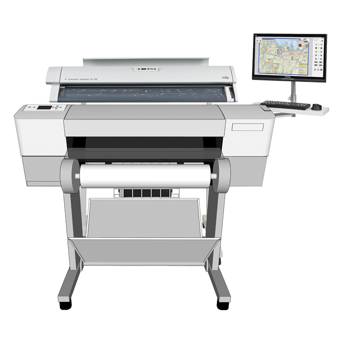 Colortrac Smart LF SC Xpress 25c MFP System